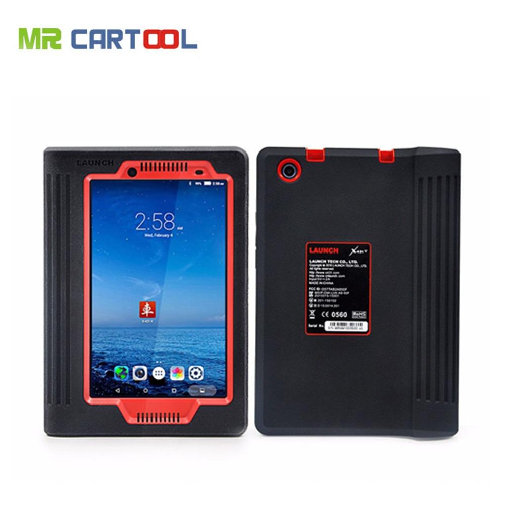 Originale Del Lancio X431 V 8 pollici Tablet Wifi/Bluetooth Strumento Diagnostico Completo del Sistema Due Anni di Aggiornamento Gratuito On-Line