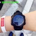 Hot Sale Original SANDA Brand Big LED Screen Black Multi-functions Digital Waterproof Sport Wrist Watch for Men Male
