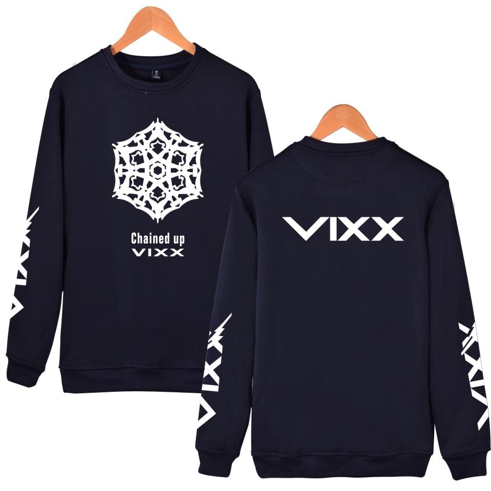 K-POP VIXX Hoodies Frauen Männer Pullover Sweatshirt Fans - Damenbekleidung - Foto 6
