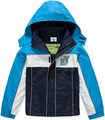 Brand Children Outerwear Coat Sporty Kids Clothes Double-deck Waterproof Windproof Boys Jackets For 3-8T