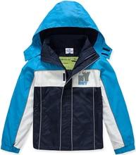 Marca niños ropa de abrigo deportivo embroma la ropa doble deck a prueba de agua a prueba de viento chicos chaquetas para 3 – 8 T
