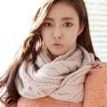 Winter Warm Scarf Luxury Brand Knitted Scarves Shawls Stoles For Women Scarf Collar Spring Solid Crochet Scarf LICs For Women