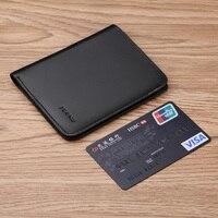 Williampolo Fashion Genuine Leather Mini Wallets Men Luxury Brand Short Cowhide Cute purse Male Slim Pouch card holder PL149