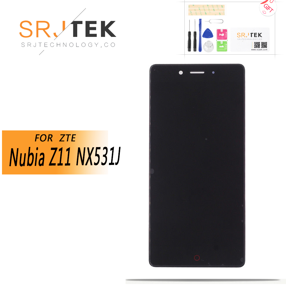 For 5.2 ZTE Nubia Z11 NX531 LCD Screen Display+Touch Screen Panel Digitizer ForZTE Nubia Z11 NX531J Screen Assembly ReplacementFor 5.2 ZTE Nubia Z11 NX531 LCD Screen Display+Touch Screen Panel Digitizer ForZTE Nubia Z11 NX531J Screen Assembly Replacement