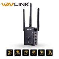 Wavlink AC750 Wireless wifi Extender/Repeater/Router Dual Band wifi Range Extender signal amplifier With 3 External Antennas WPS