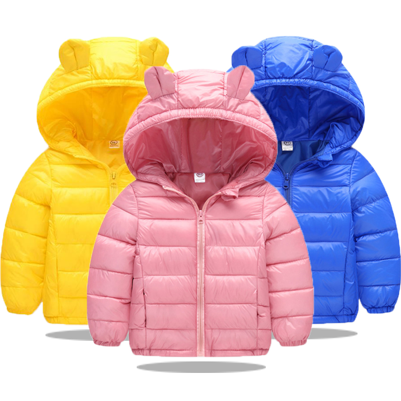 Infant Girls Coat 2019 Autumn Winter Jacket For Baby Boys Girls Jacket Kids Warm Outerwear Coat For Baby Jacket Newborn Clothes(China)