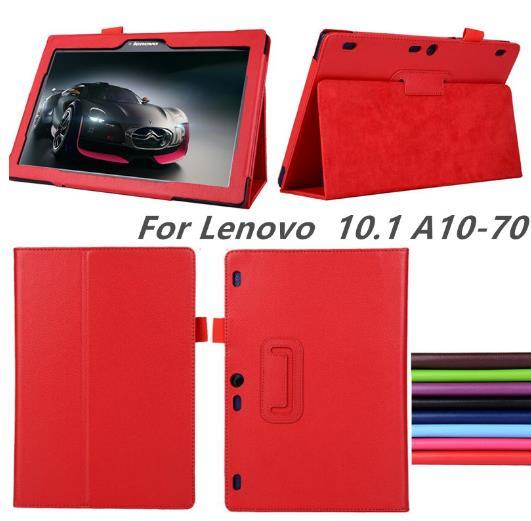 Nouveau pour lenovo Tab2 a10-70 A10-70F/L A10 70 smart Flip housse en cuir pour lenovo tab 2 A10-70L tablet 10.1 ''tablet cas