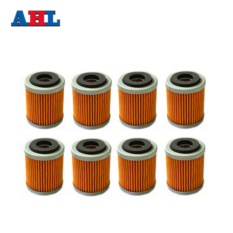8Pcs Motorcycle Engine Parts Oil Grid Filters For YAMAHA YFM350R YFM 350R YFM350R YFM 350 R RAPTOR 2004-2013 Motorbike Filter