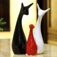 High Quality ceramic Landscape Decorations  The sitting room bedroom Wedding Decoration Adorable Figurine Craft Gift