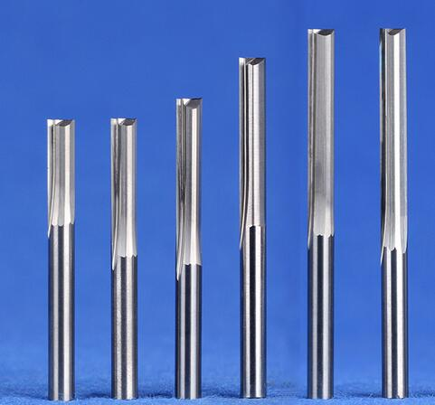 5 Pcs Carbide Router Bit End Mill Set CNC Single Flute Milling Woodworking Au