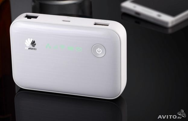 Huawei E5730 3G Mobile WiFi Hotspot with Ethernet Port and 5200mAh Power Bank (3G in Europe, Asia, Middle East, Africa)