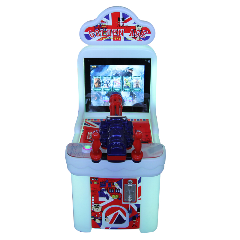 Coin operated gun shooting targets equipment game machine simulator for kids retro classic family hd lcd tv arcade game console