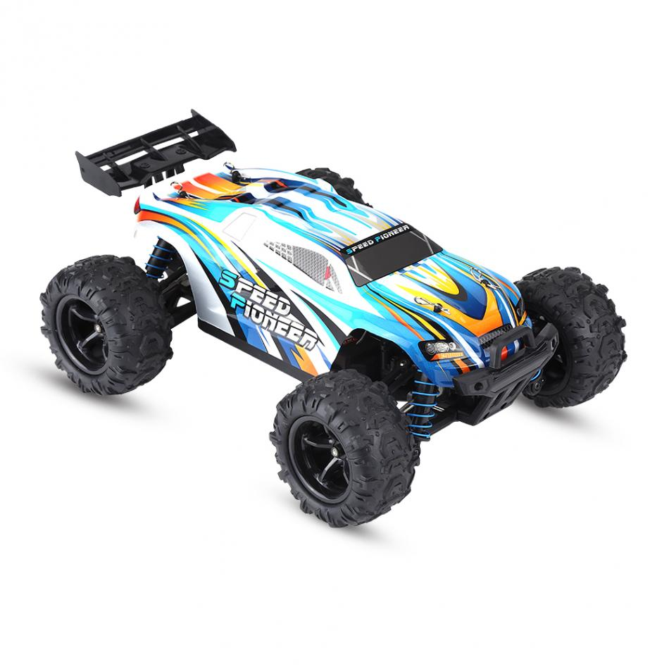 2Color PX 9302 2.4GHz Remote Control Four-Wheel Drive Racing Car 1:18 RC Model Vehicle Toy for Boy Remote Control RC Car Machine rc helicopter belt remote control of the drones 2 4g charge shaft boy toy x 400 the four axle vehicle