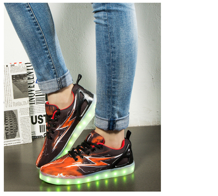 Led Sneakers Lightning 2