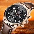 6pin LONGBO Homens de Luxo Da Marca de Qualidade Superior Relógios De Água De Natação Relógio Masculino Pulseira de Couro relógio de Quartzo Ultra-fina Relógios De Pulso 80173