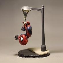 디즈니 마블 어벤져 스 14cm 스파이더 맨 사진 액션 피겨 모델 애니메이션 미니 인형 장식 컬렉션 입상 장난감 모델