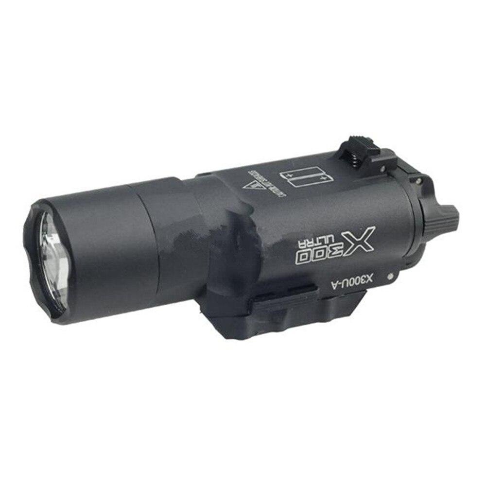 Tactical Survival luz lâmpada SFX300U equitação lanterna