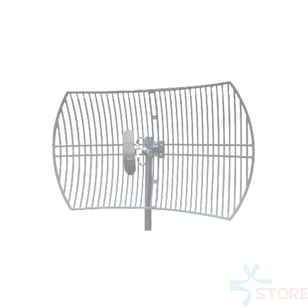 0 9ghz 900mhz 15dbi High Gain Gsm Directional Parabolic Grid Antenna For Uhf Cuav Data