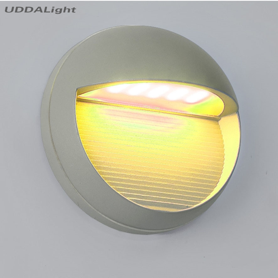 6W SMD LED Outdoor Wall Light Waterproof Aluminum Fixture for Outdoor Lighting Wall Lamp AC 85V 265V
