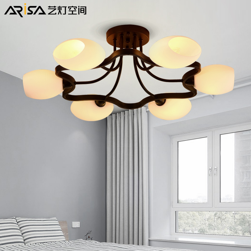 LED Ceiling lighting Indoor Bedroom Ceiling Lamps Fixtures Home Modern American country style Living room Ceiling Lights led white ceiling lighting indoor bedroom ceiling lamps fixtures home modern american country style living room ceiling lights