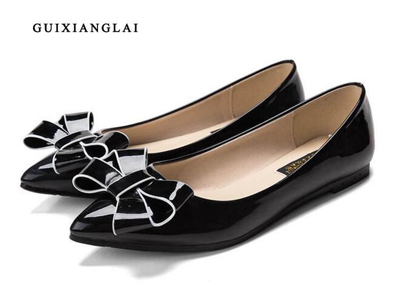 Spring Summer Women Flat OL Party Shoes Pointed Toe Slip-On Flats Ladies Loafer Shoes Comfortable Single Casual Flats Size 34-41 spring summer women flat ol party shoes pointed toe slip on flats ladies loafer shoes comfortable single casual flats size 34 41
