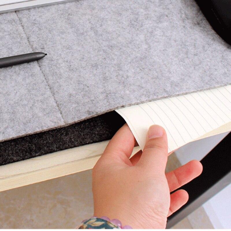 Locking Edge Mouse Pad Stor Grå Laptop Tastatur Mat Computer Desk Table Gaming til Office / Gamer / CS Go