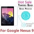 """9 H 2.5D 0.3mm Templado A Prueba de Explosiones de Cristal Templado Para Google Nexus 9 8.9 """"LCD Claro de la Película Protector de pantalla Protector de la Cubierta"""