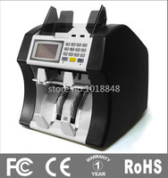 110V 220V Mixed Note Counter A Half Sorter Multi Currency Money Counter Bill Detector Cash Counting