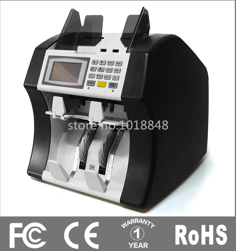 все цены на  110V-220V Mixed Note counter,A half Sorter Multi-currency Money Counter Bill Detector Cash Counting Machine Money counter  онлайн