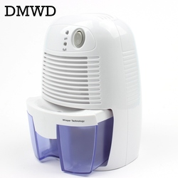 DMWD Mini dehumidifier, household moisture absorber, quiet basement, dehumidifier, wardrobe dryer, moisture absorber 100V-240V