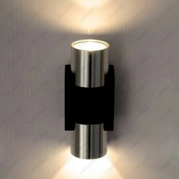 Indoor Spotlight: Dimmable/Not 2W LED Wall Mount Lamp Up/Down Light Indoor