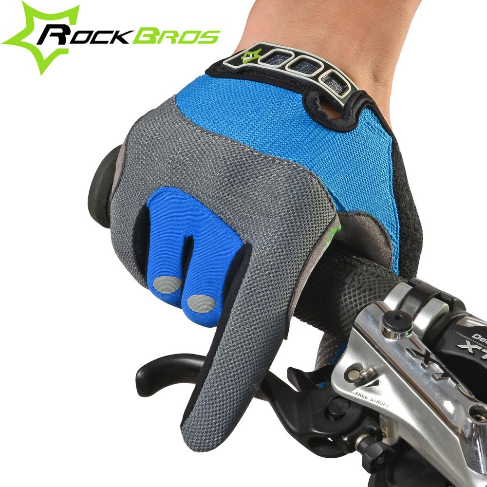 ROCKBROS Cycling Gloves Full Finger Touch Screen Men Women Winter Warm MTB Bike Bicycle Windproof Gloves For Smartphone Phone rockbros cycling gloves full finger touch screen men women winter warm mtb bike bicycle windproof gloves for smartphone phone
