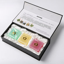 Handmade manufacture Green health soapberry Rose essence soap 3 pcs a