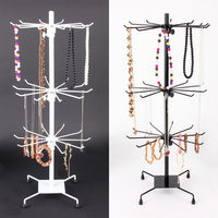 New Arrival 30 Hook Necklace Bracelet Jewelry Display Rack Metal Stand Holder Showcase 70CMX30CM Free Shipping