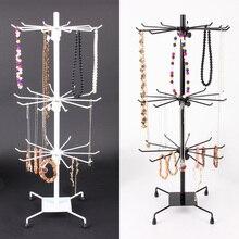 Nova chegada 30 gancho colar pulseira exibição de jóias rack suporte metal vitrine titular 70 cm x 30 cm frete grátis