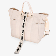цены Big Bag Rushed New Arrival Solid Casual Zipper Canvas Shopping Bags For Women