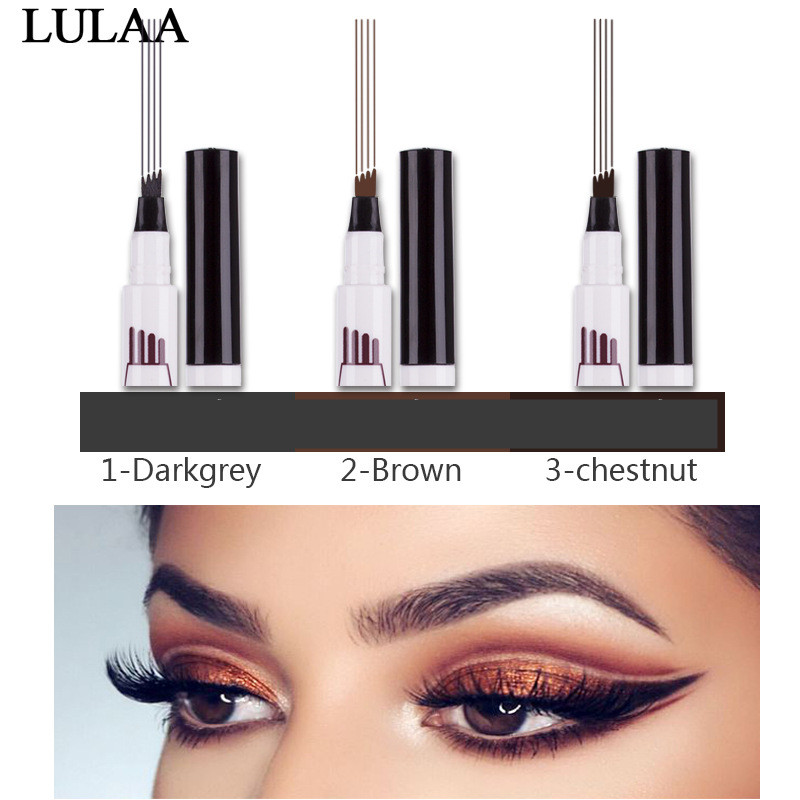 Beauty Essentials Lower Price with 1 Pcs Charming Eye Winged Eyeliner Seal Wing Waterproof Mascara Cream Dye Eyebrow Pen Makeup Tool Long Lasting Color Natural Back To Search Resultsbeauty & Health