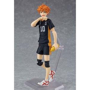 Image 3 - Haikyuu!! כדורעף ספורטאי Hinata Syouyou Shoyo Figma 358 PVC פעולה איור אוסף דגם צעצועי בובה