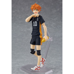 Image 3 - Haikyuu!! Volleyball Athlete Hinata Syouyou Shoyo Figma 358 PVC Action Figure Collection Model Toys Doll