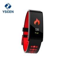 X20 YSCEN Relógio Inteligente Pulseira Pressão Arterial de Oxigênio Monitor De Freqüência Cardíaca Do Bluetooth Inteligente Pulseira Sports Banda Inteligente À Prova D' Água