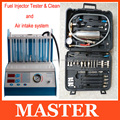 GX-100 NON-DISMANTLE CLEANER for Fuel injector cleaner &tester tool and auto  Fuel injector cleaner machine A360