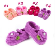 First walker baby boy girl wool shoes Spring Handmade wool baby shoes, children's woven newest princess shoes