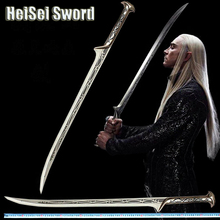 Handmade top quality The Hobbit Thranduil Elven King Stainless steel blade sword cosplay movie anime katana European sword(China)