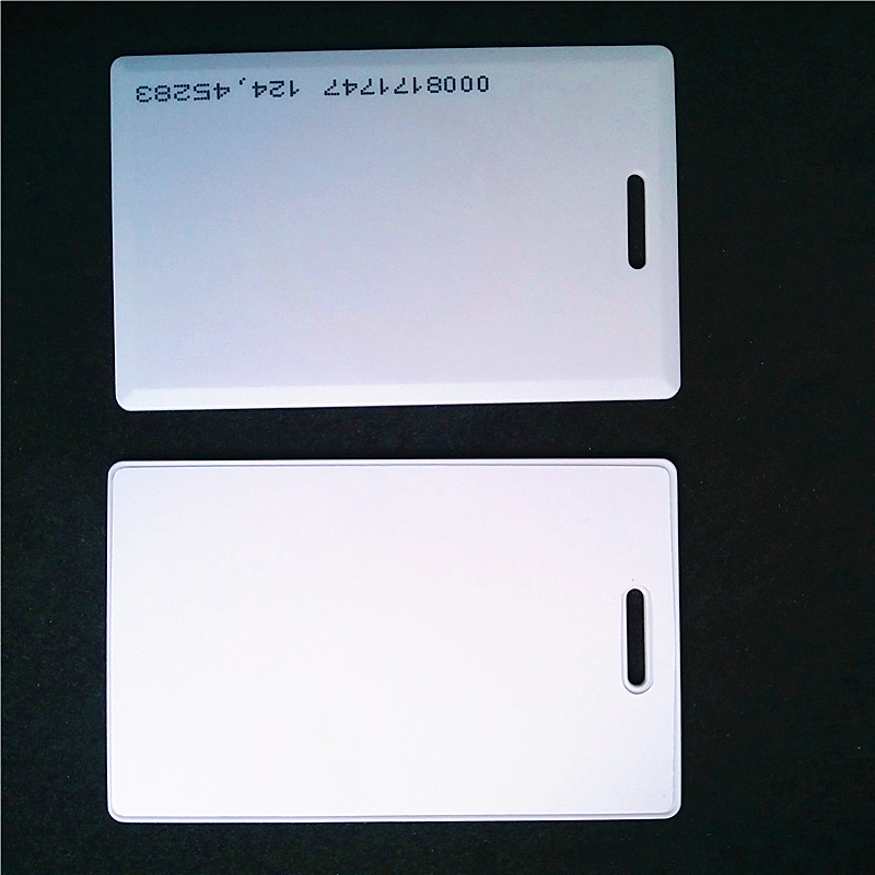 купить 125khz EM4100 TK4100 Clamshell Card Thick RFID Card Access Control ID Card Read Only Card