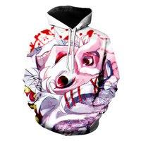 Liasoso Ahegao 3D Print Tokyo Ghoul Horror disgusting Men's Women's TShirt/hoodie/sweatshirt Unisex Plus Funny Cool Tops Sets JS