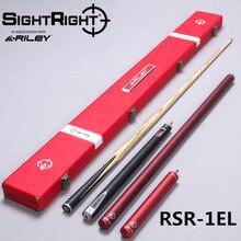 Кий для снукера Riley Import, серия Sight Right, модель RSR-1EL, 145 см, наконечник для кия 9,5 мм, вал из ясеня, бильярдный кий ручной работы 3/4