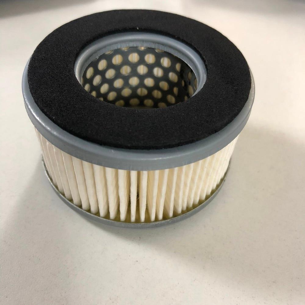Air Compressor 36mm Inner Dia Cylindrical Muffler Filter White 36x68x40mm IDxODxHeight accutex lt103 diamond wire guide inner dia 0 155mm manual upper