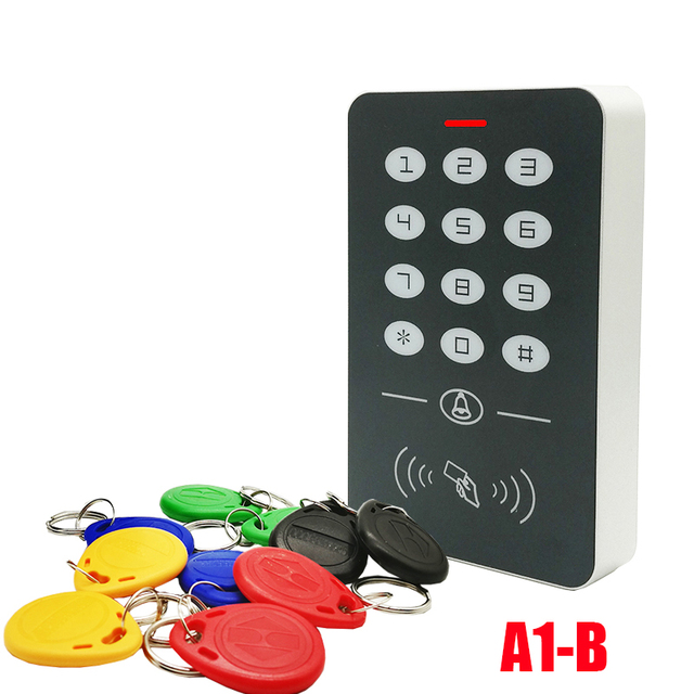 2019 New Free Shipping 125Khz Rfid Access Control System Card Door Lock Controller Keypad Door Access Controller