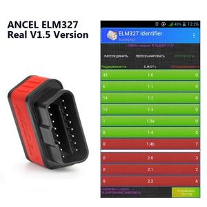 Image 4 - Original Ancel iCar2 icar 2 Bluetooth ELM327 V 1,5 OBD2 Scanner Für Android Telefon Code Reader Diagnose Automotive Scanner Tool