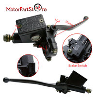 Right Front Hydraulic Brake Handle with Master Cylinder For GY6 Chinese Scooter forYamaha Kawasaki Motorcycle ATV Moped Part @20